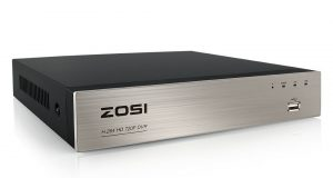 ZOSI 8ch 720p Channel DVR Standalone HD HDMI for CCTV Camera Security System Kit 4