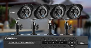 4CH 1080N AHD DVR 1500TVL IR HD CCTV Outdoor Surveillance Security Camera System 2